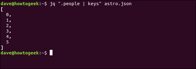 "The ""jq "".people 