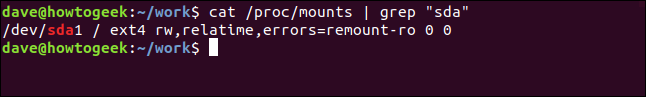 "The ""cat /proc/mounts 