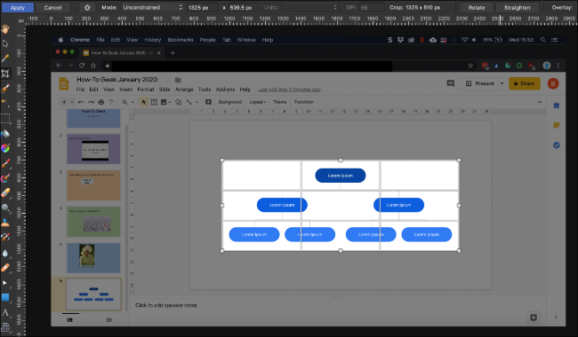 A screenshot of a Google Slides presentation in the process of being cropped