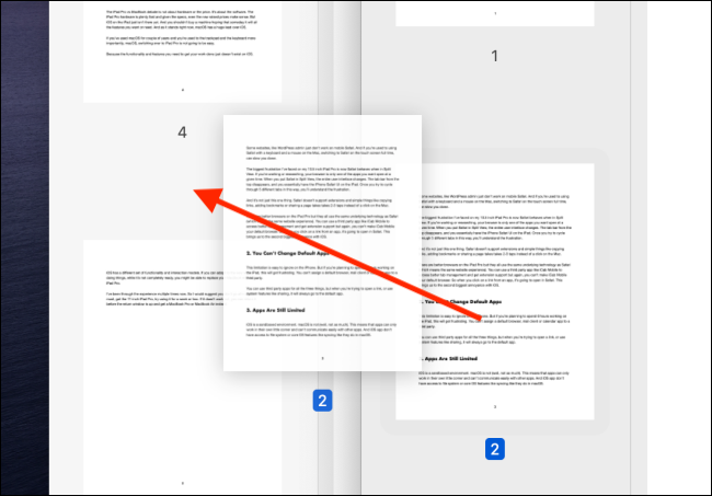 Drag in a page from another PDF