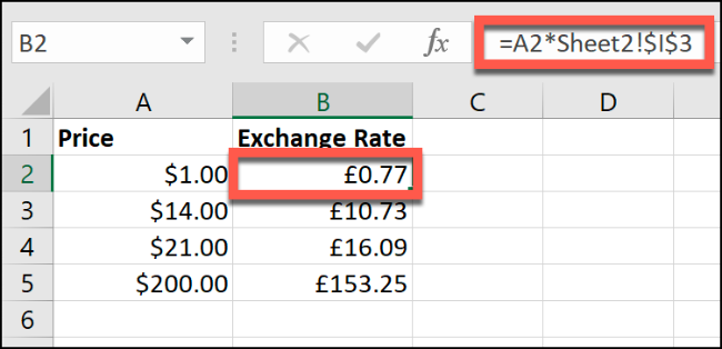 How To Convert Currency In Microsoft Excel