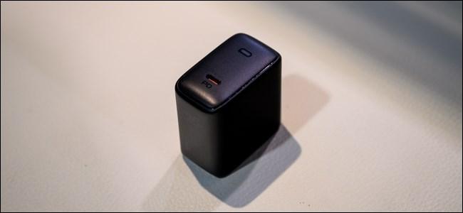 The Aukey Omnia 100-watt charger.