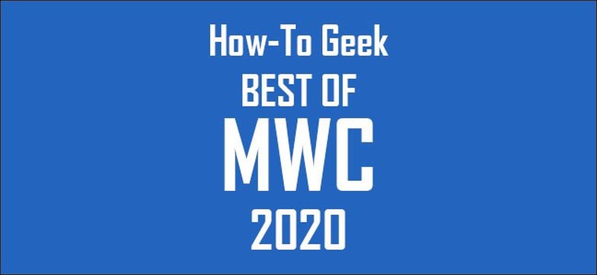Best of MWC 2020 Award