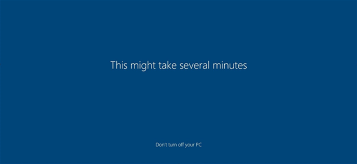 Windows 10 First Sign-in Animation Logo