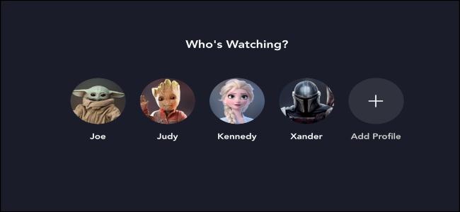 Disney + Quién está mirando