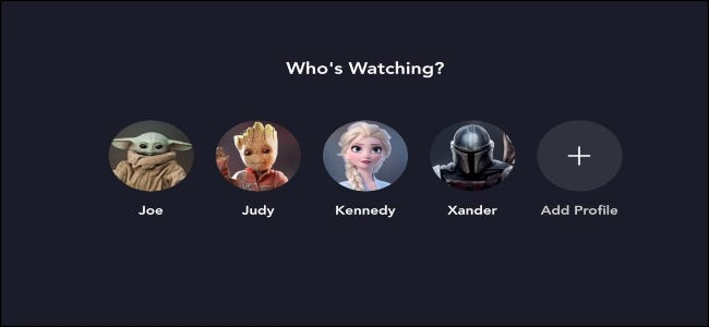 Disney + Who's watching