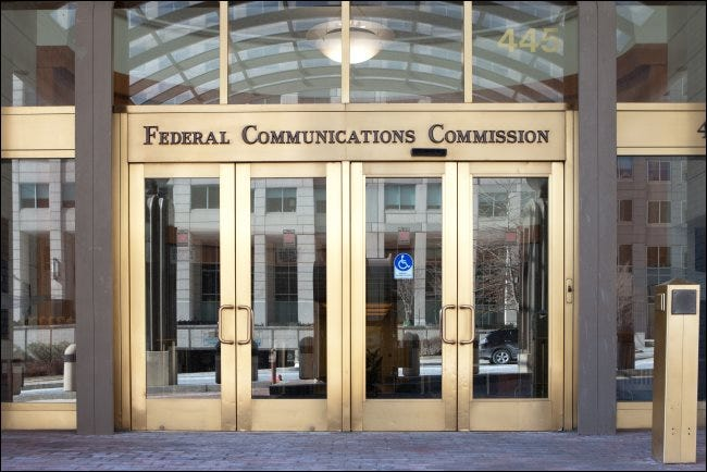 Sede de la FCC en Washington, DC.