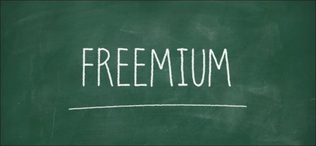 """Freemium"" written on a chalkboard."