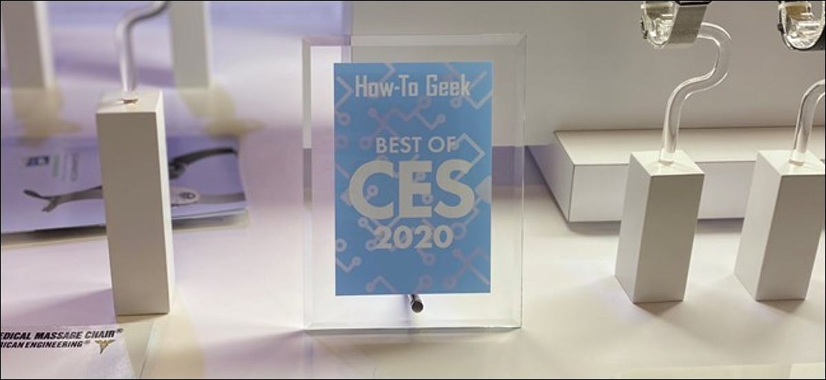 How-To Geek Best of CES 2020 Award