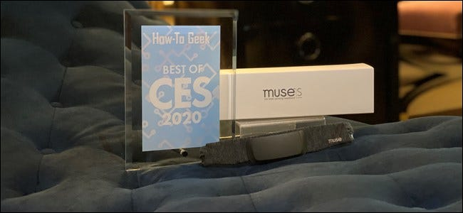 Muse S with How-To Geek Award
