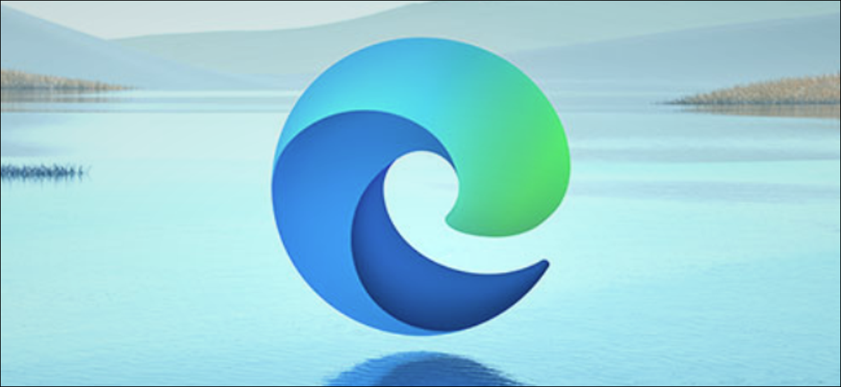 The logo of Microsoft's new Chromium-based Edge browser for Windows, Mac, and Linux.