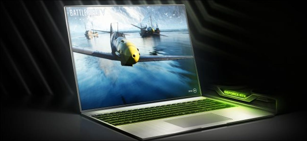 A NVIDIA RTX-20 series gaming laptop