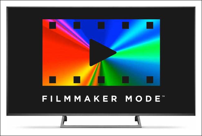 The Filmmaker Mode logo.