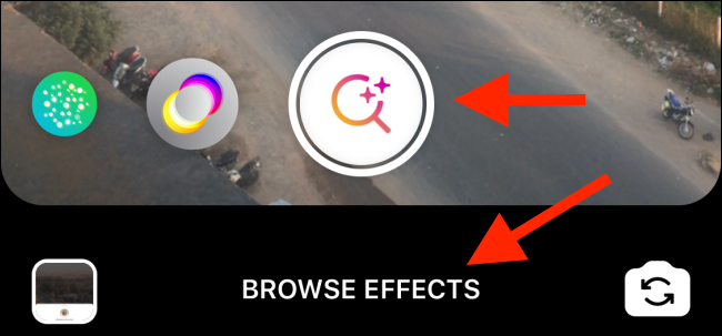 """Tap """"Browse Effects."""""""