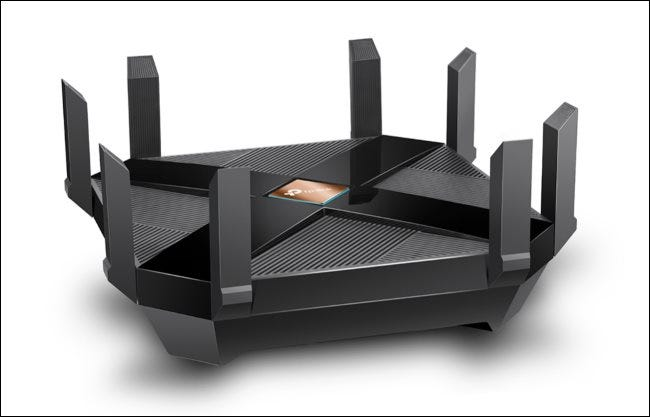 TP-Link Archer AX6000 Wi-Fi 6 router.