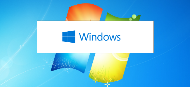 The Windows 10 installer splash screen on a Windows 7 desktop background.