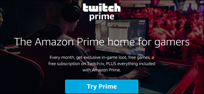 Twitch Prime Header logo
