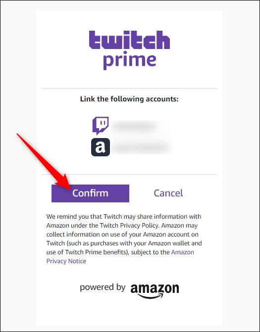 """Click """"Confirm."""""""