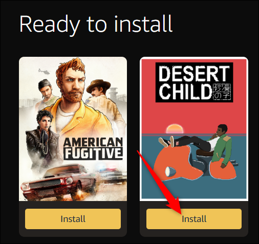 "Click ""Install""."