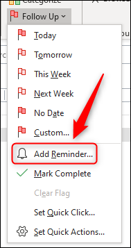 "Click ""Add Reminder."""