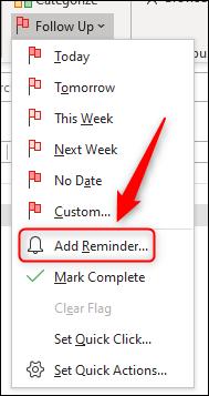 "Click ""Add Reminder."""