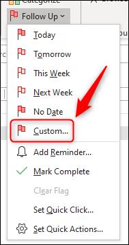 """Click """"Custom."""""""