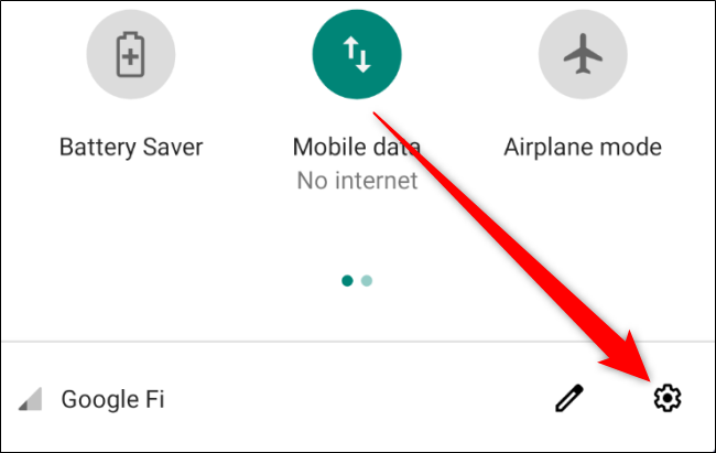 Android Open Settings