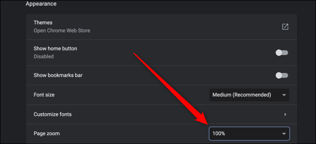 Chrome Advanced Setting for Zoom