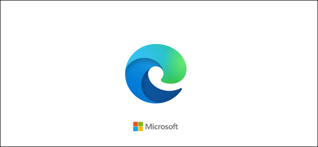 The Microsoft Edge logo.