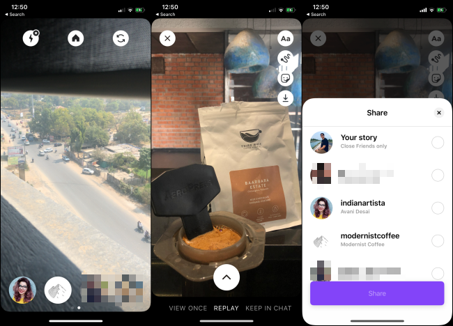 The Instagram Threads app on a smartphone.