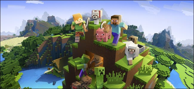 Minecraft Open World Game