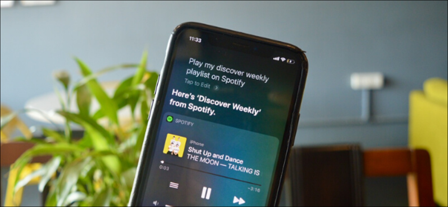 Spotify working with Siri on iPhone