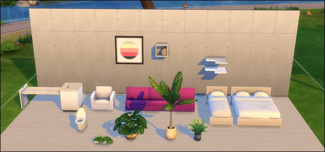 The Sims 4 Custom Content Placement