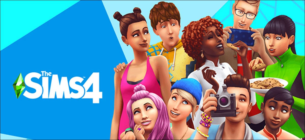 """Characters from """"The Sims 4."""""""