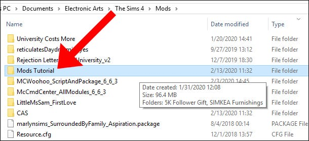 The Sims 4 Mods Tutorial Delete Mods
