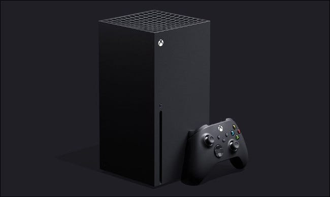 The Xbox Series X.