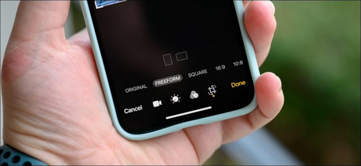 Apple iPhone Crop and Change Aspect Ratio of Videos