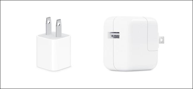 Cargadores para iPhone y iPad
