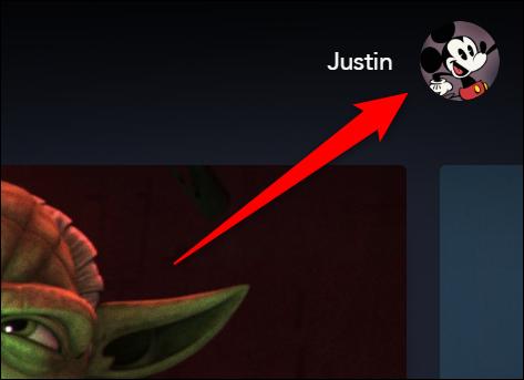Disney + Seleccione su avatar