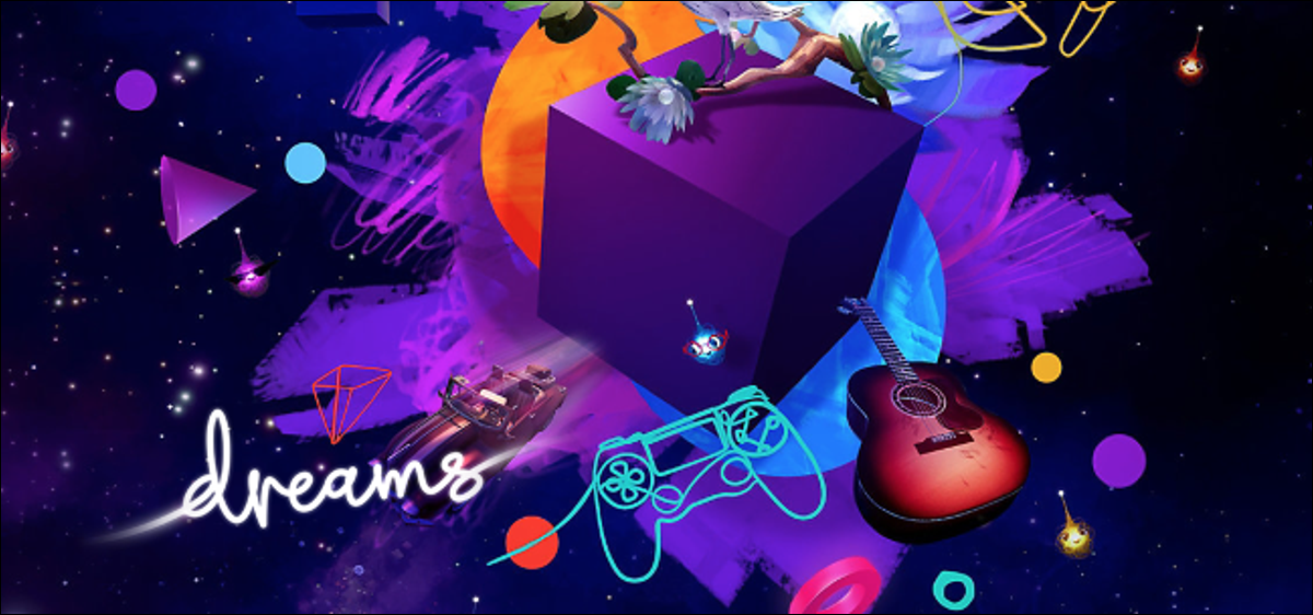 """Cover image for """"Dreams"""" for PS4."""