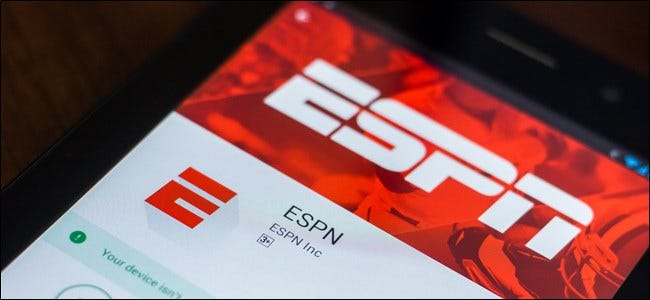 ESPN App in the Google Play Store