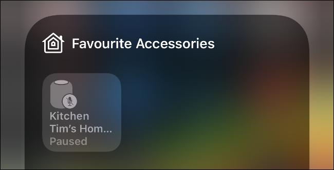 Control Favorite HomeKit Devices via Control Center