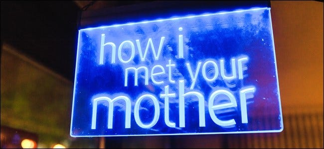 How I Met Your Mother Sign