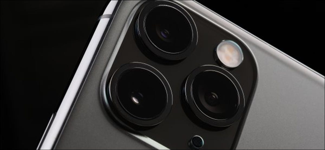 The iPhone 11 Pro Max camera.
