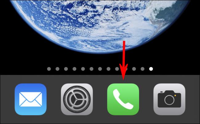 Start the Phone app