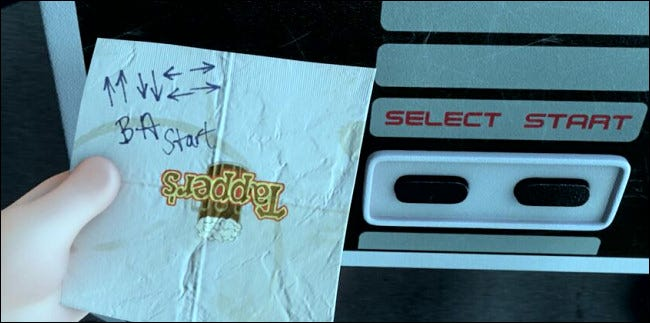 The Konami Code appears in Wreck-It Ralph