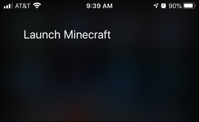 Using Siri voice commands to Launch an App