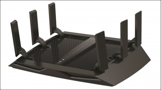 A Netgear Nighthawk wireless router.