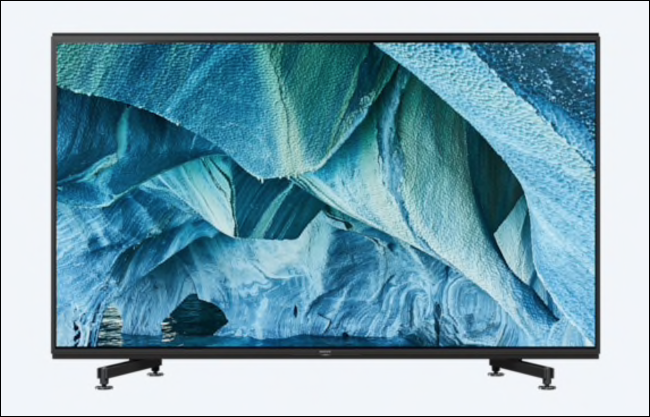 The Sony MASTER Series 8K Display.