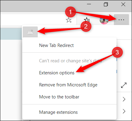 The extension's icon can be found in the Menu as well.